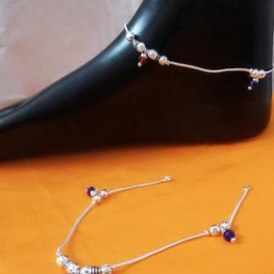 Halltree Silver Anklet 8