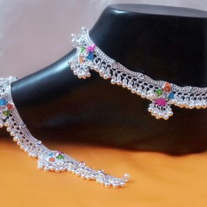 Halltree Silver Anklet 9