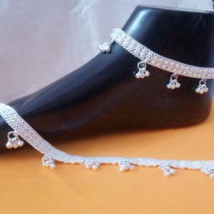 Halltree Silver Anklet 11