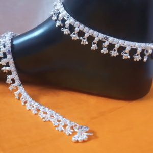 Halltree Silver Anklet 5