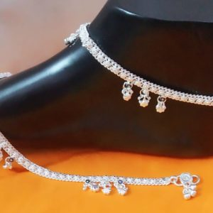 Halltree Silver Anklet 10