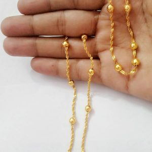 Halltree Gold Plated chains 12