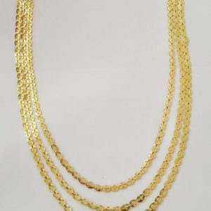 Halltree Gold Plated chains 3