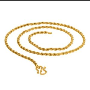 Halltree Gold Plated chains 7