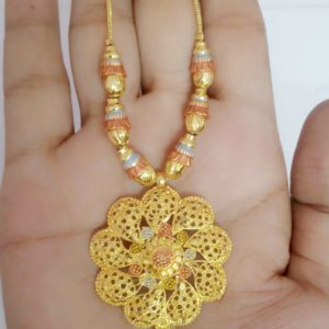 Halltree Gold Plated Pendent Set 11