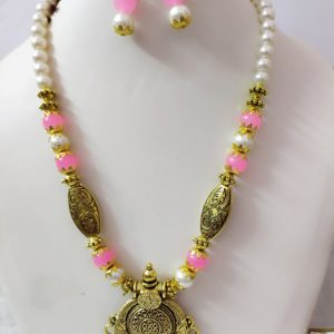 Gold Plated Necklace Set 5