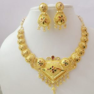 Necklace Set with Earrings 12