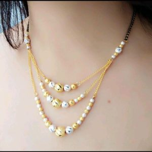 Halltree Mangalsutra with chain 11