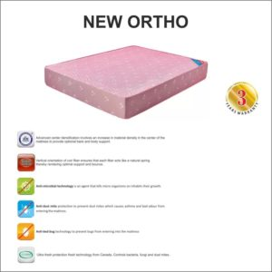 "Kurlon Ortho Coir Mattresses 5"" With 3 Years Warranty 72 *36 7"