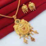 Halltree Gold Plated Pendent Set 1