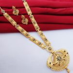 Halltree Gold Plated Long Necklace Set 1