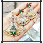 Halltree AD Pendent Set with chain and Earrings 1