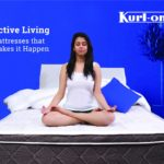 "Kurlon Spine Therapy 6+2"" Bonded Memory Foam Mattresses with memory foam with 7 Years Warranty 2"